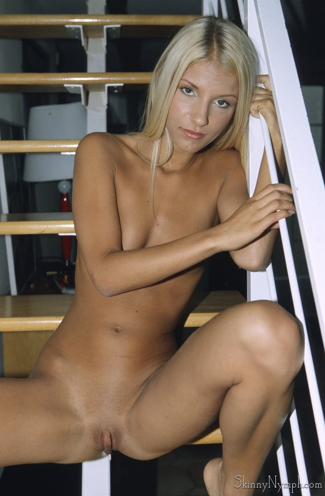 blonde nude skinny amateur Beautiful