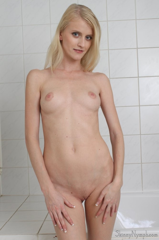 Amateur skinny blonde nude remarkable, rather